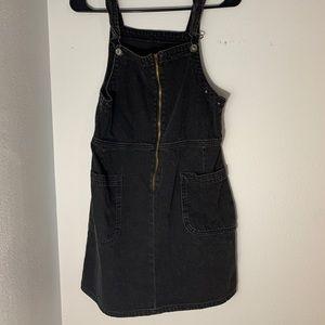 American Eagle Denim Overall Dress